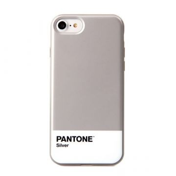 Silver Pantone Cover iPhone 7  / iPhone 8
