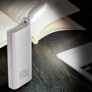 Batterie Externe Power Bank 15000 mAh avec lampe de chevet