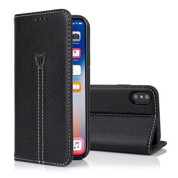 Etui portefeuille XUNDD iPhone X Xs