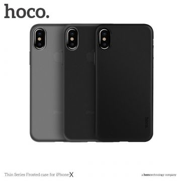 Hoco Thin Matt Serie iPhone X Tasche