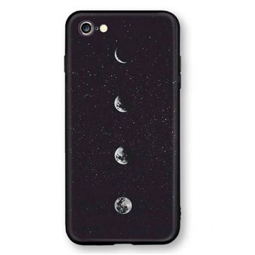 Soft Touch Moon Hard Case iPhone 8 / iPhone 7
