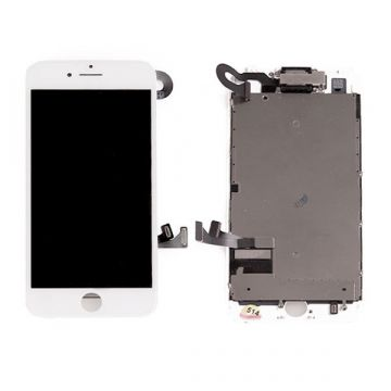 Complete touchscreen and LCD Retina screen for iPhone 7 Plus white original Quality