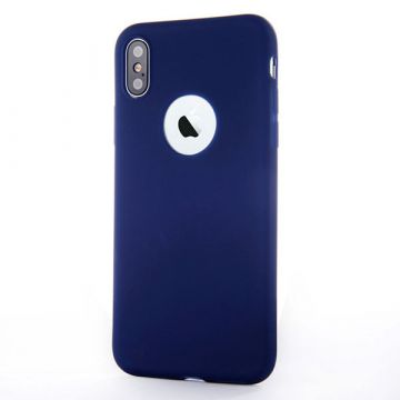 Silicone Case for iPhone X - Night Blue