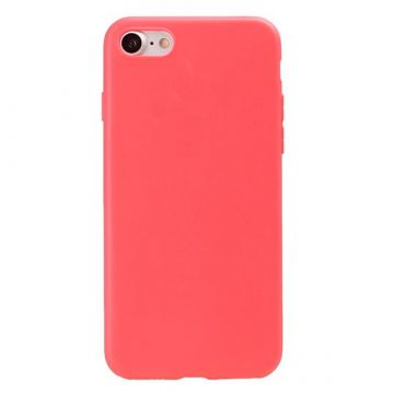 Silicone Case for iPhone 7 - Red Coral