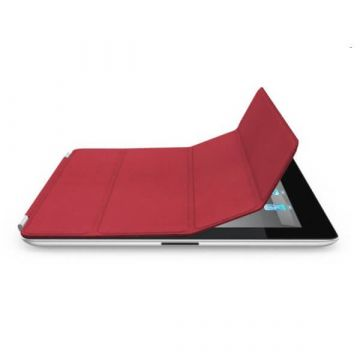 Smart Cover iPad 2 3 4 rouge
