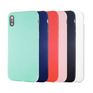 Silicone Case for iPhone X  - White