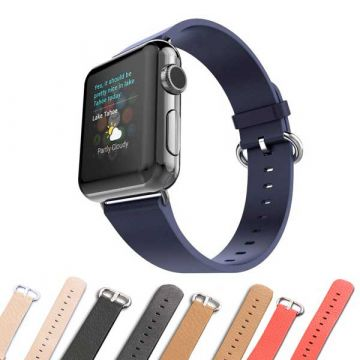 Bracelet cuir iCarer pour Apple Watch 44mm & 42 mm