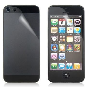 Screen Protector iPhone 5/5S/SE Anti Glare Front & Rear Anti-Glare