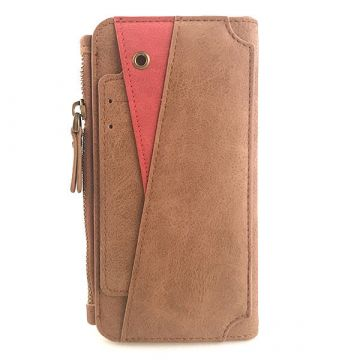 Buckskin Look Portfolio Stand Case iPhone X