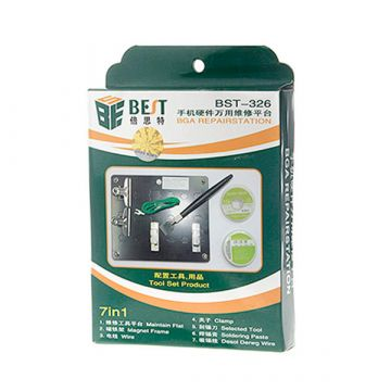 7 in 1 reparatie station BST-326 set
