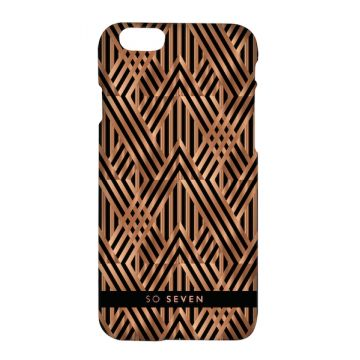 So Seven Midnight Art Deco iPhone 8 / 7 shell