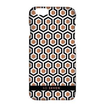 So Seven Midnight Hexagonal Hull iPhone 8 / 7