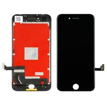 Complete 2nd quality Glass digitizer, LCD Retina Screen for iPhone 8 black