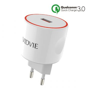 Qualcomm Quick Charge 3.0 Vidvie USB Charger