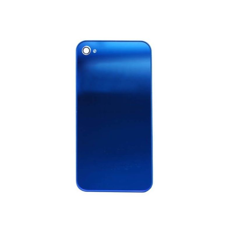 Replacement back cover iPhone 4 Mirror Blue