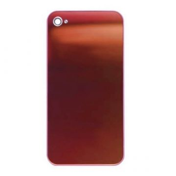 Replacement back cover iPhone 4S Mirror Red