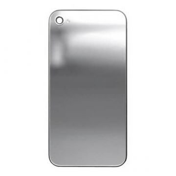 Ersatz Backcover Mirror Silber iPhone 4