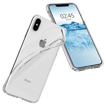 Coque TPU transparente G-Case pour iPhone XS Max