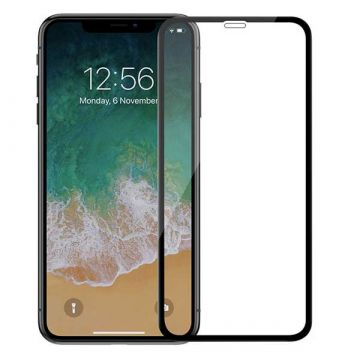 5D Premium iPhone XR curved tempered glass film