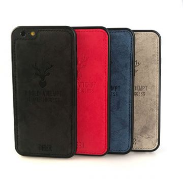 """Deer"""" shell with iPhone 8 / 7 leather effect"""