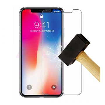 Tempered glass screenprotector iPhone Xs Max