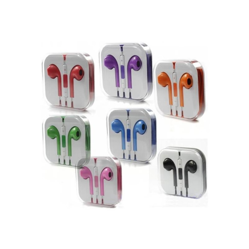 Quality Colors Headphones with Volume Control and Micro