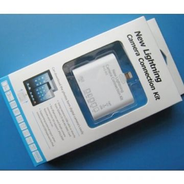 Kaartlezer Connection Kit 5 in 1 MicroSD MMC MS TF M2 kaarten voor iPad, iPad 1 2 3 + gratis zwarte touch pen