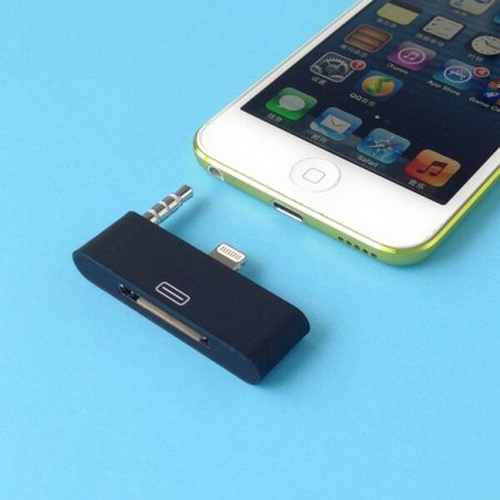 Audio Adapter Lightning 30 pin to 8 pin iPhone 5 - iPad Mini- iPod Touch 5 and Nano 7