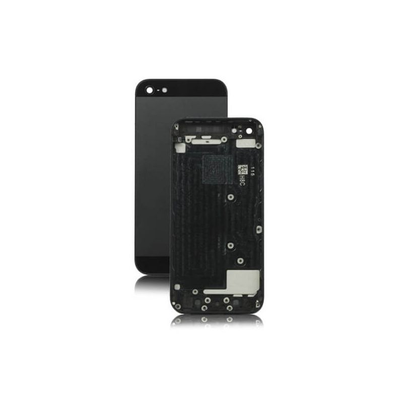 Frame and metallic border for iPhone 5 Black