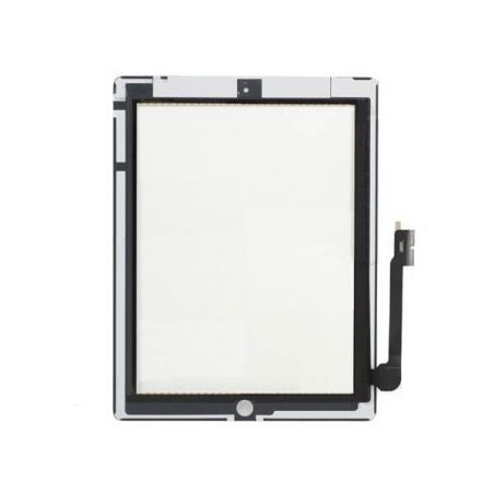 Touch Screen Glass/Digitizer Assembly For iPad 3 white