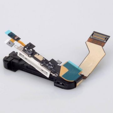 Compleet Oplaad Dock Connector IPhone 4S Wit