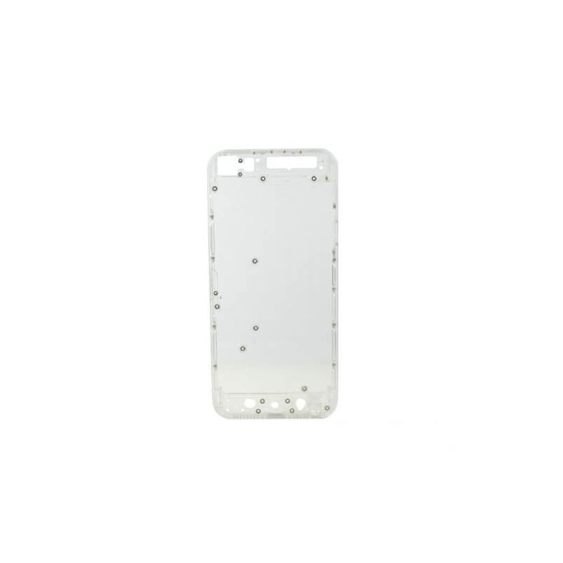 White Transparent frame and plastic border for iPhone 5