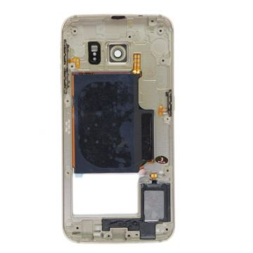 Châssis interne Or pour Galaxy S6 Edge