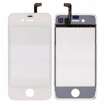 Touch Screen Digitizer with Frame for iPhone 4S White