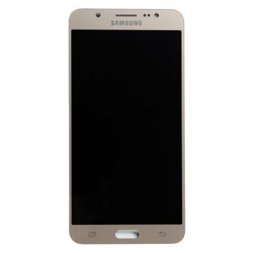 LCD Screen + Gold Touch Screen (Official) for Galaxy J7 (2016)