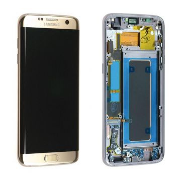 Ecran complet or (Officiel) pour Galaxy S7 Edge