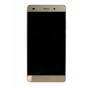 Compleet OF-scherm (LCD + Touch + Chassis) (officieel) voor Huawei P8 Lite