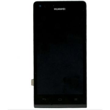Complete BLACK screen (LCD + Touch + Chassis) (Official) for Huawei Ascend G6
