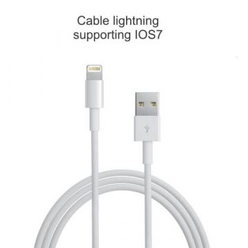 Lightning Cable 1 meter iPod iPad and iPhone