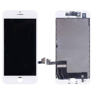 Complete 1st quality Glass digitizer, LCD Retina Screen for iPhone 8 black