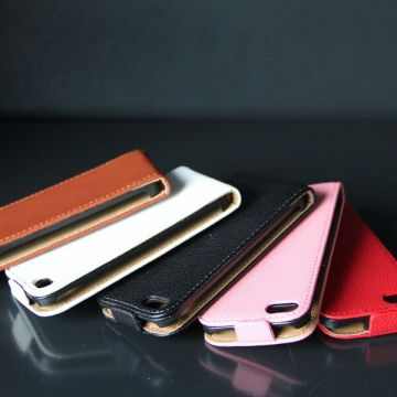 Leather look Cover iPhone 5/5S/SE