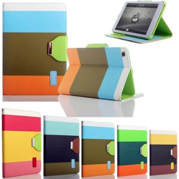 Etui portefeuille Rainbow iPad 2 3 4