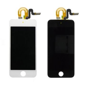 Touch Glass & LCD Screen & Full Frame for iPod Touch 5th Generation White