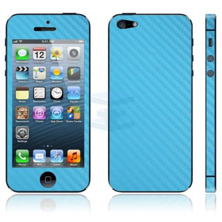 Skin Protection Sticker Carbon Look IPhone 4