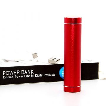 Tube Batterie Chargeur Externe 2600 MAH iPod et iPhone