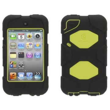Indestructible Survivor Case Green for iPod Touch 4