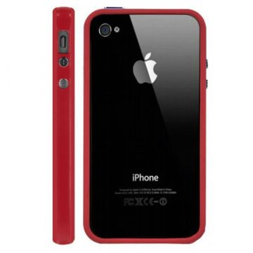 Bumper TPU for iPhone 4 & 4S Red