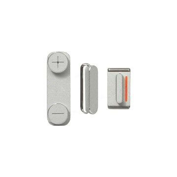 Set of 3 buttons (mute - volume - power) iPhone 5S
