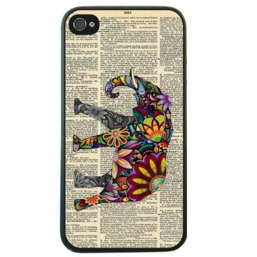 Hardcase for iPhone 4 4S Elephant