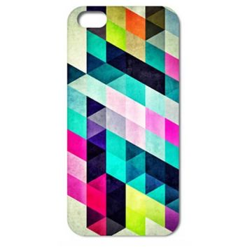 Hardcase for iPhone 4 4S Triangles Design